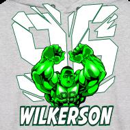 Design ~ Wilkerson Mens Hulk Hoodie