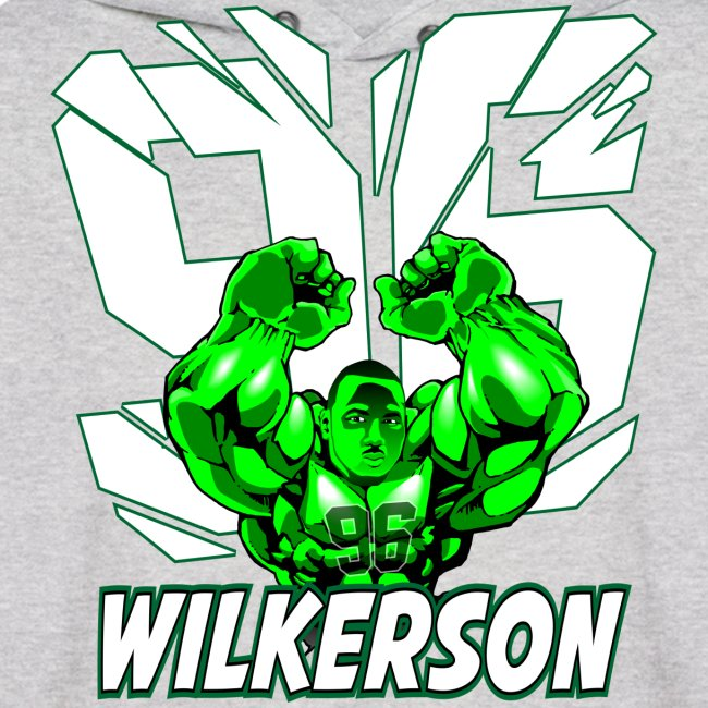 Wilkerson Mens Hulk Hoodie