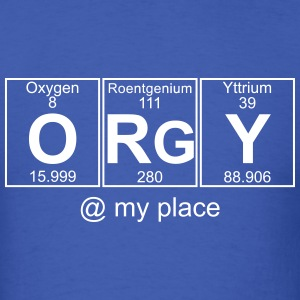 O-Rg-Y (orgy) - Full T-Shirts - Men's T-Shirt