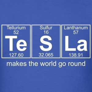 Te-S-La (tesla) - Full T-Shirts - Men's T-Shirt