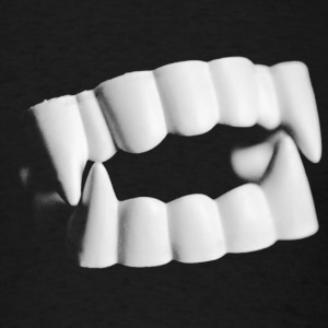 Vampire Teeth T-Shirt - Men's T-Shirt