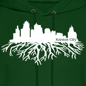 Kansas City Skyline Roots Hoodies - Men's Hoodie