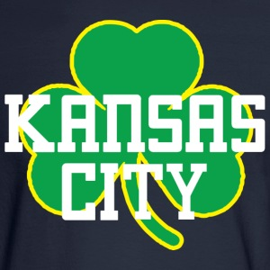 Kansas City Big Shamrock Long Sleeve Shirts - Men's Long Sleeve T-Shirt