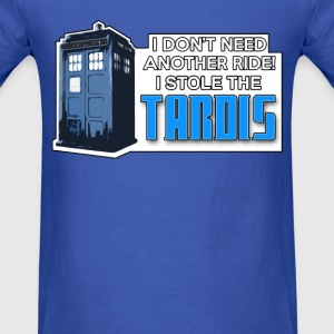 I STOLE THE TARDIS! - Men's T-Shirt