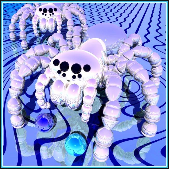Silver Spider 7