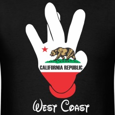 West Coast Cali T-Shirts