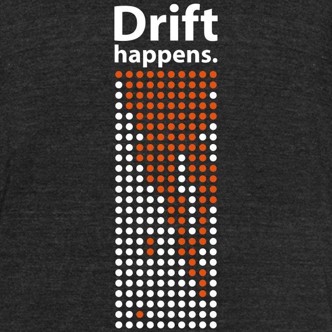 Drift Happens tee - black