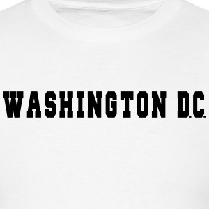 Washington DC College T-Shirts - Men's T-Shirt