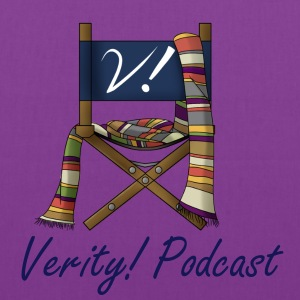 Verity! Podcast Logo Bags & backpacks - Tote Bag