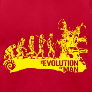 Evolution - Men's T-Shirt by American Apparel