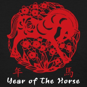 Year of The Horse Papercut T-Shirt - Women's T-Shirt