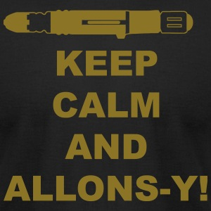 keep_calm_and_allonsy T-Shirts - Men's T-Shirt by American Apparel