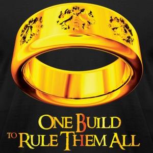 One Build To Rule Them All - Men's T-Shirt by American Apparel