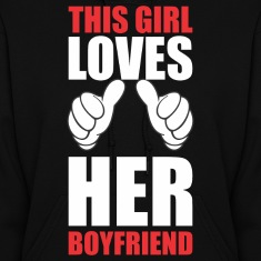 This Girl Loves Her Boyfriend Hoodies