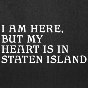 Here but Heart in Staten Island Bags & backpacks - Tote Bag