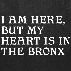 Here but Heart in the Bronx Bags & backpacks - Tote Bag