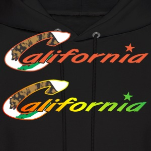 CALIFORNIA Bear Hoodies - Men's Hoodie