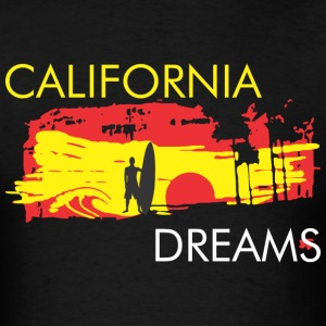 CALIFORNIA BEACH T-Shirts - Men's T-Shirt