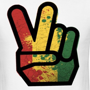 peace rasta - Men's T-Shirt
