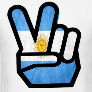 peace argentina - Men's T-Shirt
