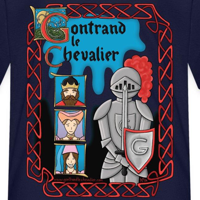 T-shirt pour enfants Gontrand le Chevalier