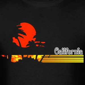 CALI Beach T-Shirts - Men's T-Shirt