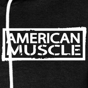 American Muscle  Zip Hoodies & Jackets - Unisex Fleece Zip Hoodie by American Apparel