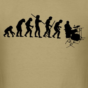 drumming evolution - Men's T-Shirt