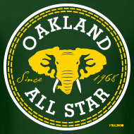 Design ~ Oakland All Star - Men's Tee