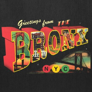 New York Bronx Post Card  Bags & backpacks - Tote Bag