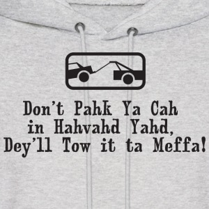 Park the Car In Harvard Yard Boston  Hoodies - Men's Hoodie
