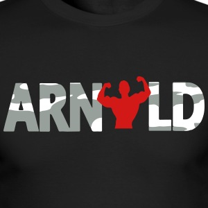 Arnold Camo Long Sleeve Shirts - Men's Long Sleeve T-Shirt by Next Level