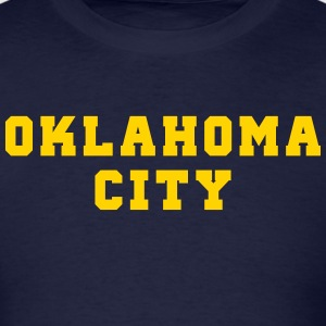 Oklahoma City College T-Shirts - Men's T-Shirt