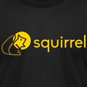 Symbols 2013: squirrel T-Shirts - Men's T-Shirt by American Apparel