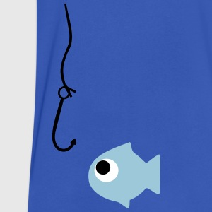 fishing T-Shirts - Men's V-Neck T-Shirt by Canvas