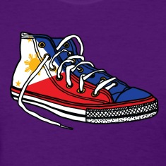 Pinoy Runner Womens Filipino Tshirt