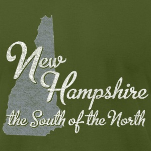 New Hampshire the South of the North T-Shirts - Men's T-Shirt by American Apparel