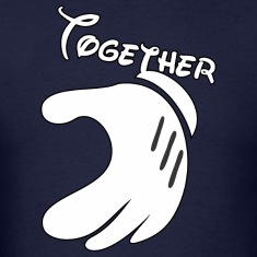 Together Mickey Hand Men's T-Shirt