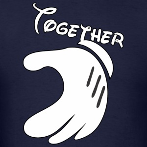 Together Mickey Hand Men's T-Shirt - Men's T-Shirt