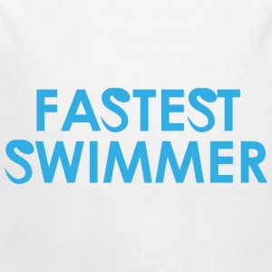 Fastest Swimmer - Long Sleeve Baby Bodysuit
