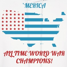 'Merica All time world war champions
