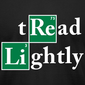 Tread Lightly T-Shirts - Men's T-Shirt by American Apparel