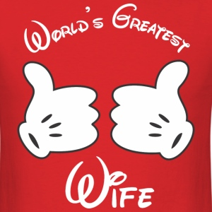 World's Greatest Wife T-Shirts - Men's T-Shirt