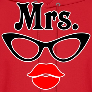 Mrs glasses Hoodies - Men's Hoodie