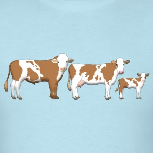cows 2 T-Shirts - Men's T-Shirt