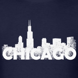 Chicago Skyline - Men's T-Shirt