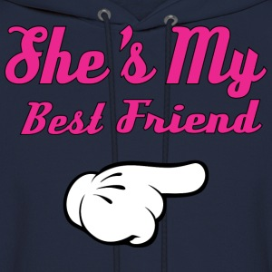She's My Best Friend Hoodies - Men's Hoodie