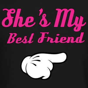 She's My Best Friend Long Sleeve Shirts - Crewneck Sweatshirt
