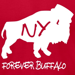 Buffalo NY T-shirts - Men's T-Shirt by American Apparel
