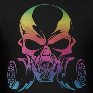 skull spectrum - Men's T-Shirt